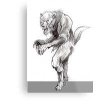 Ultimate Wolfman Metal Print