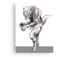 Ultimate Wolfman Canvas Print