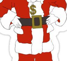 Bribe Santa Sticker