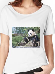 Chop Sticks - Funi   - Adelaide Zoo's Female Panda Women's Relaxed Fit T-Shirt