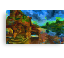 Middle Earth Canvas Print