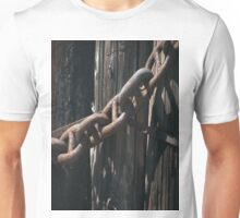 Ship's Chain and Ocean Pier Pilings Unisex T-Shirt