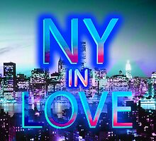 NY in love by sebmcnulty