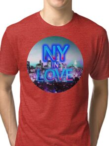 NY in love Tri-blend T-Shirt