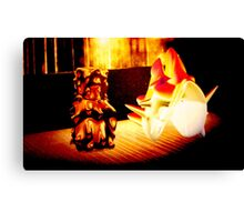 Montague family Canvas Print