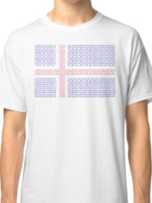 digital Flag (iceland) Classic T-Shirt