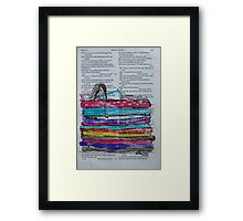Princess and the Pea Framed Print