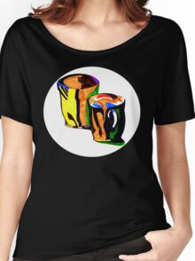 coffee cup's Women's Relaxed Fit T-Shirt
