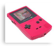 Macintosh Plus Game Boy - ALL PRODUCTS AVAILABLE Canvas Print