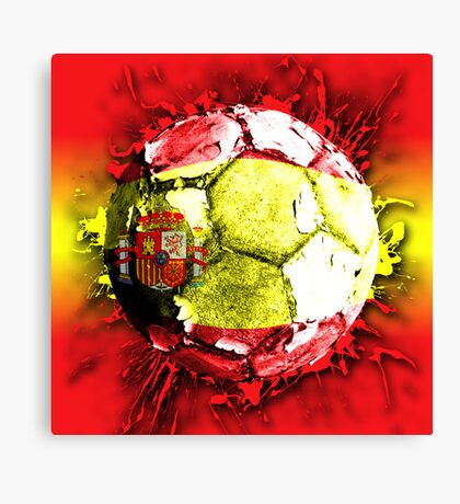 football spain Canvas Print