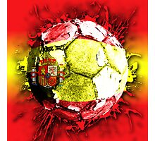 football spain Photographic Print