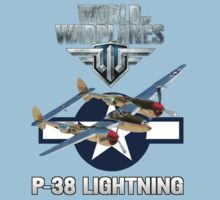 World of Warplanes P-38 Lightning One Piece - Short Sleeve