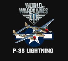 World of Warplanes P-38 Lightning Unisex T-Shirt