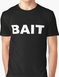 BAIT - White Graphic T-Shirt