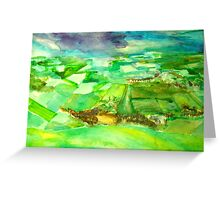 south downs Greeting Card