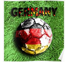 Old football (germany) Poster