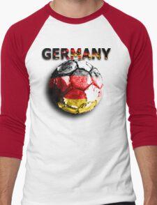 Old football (germany) Men's Baseball ¾ T-Shirt