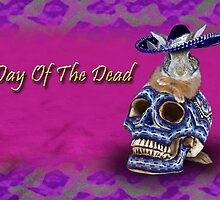 Day Of The Dead Bunny Rabbit by jkartlife