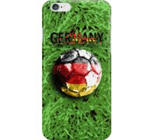 Old football (germany) iPhone Case/Skin