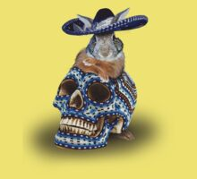Day Of The Dead Bunny Rabbit One Piece - Short Sleeve