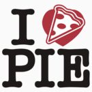 I Heart Pizza Pie by DetourShirts