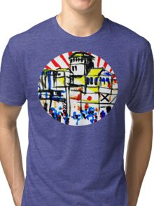 Japan and the flag  Tri-blend T-Shirt