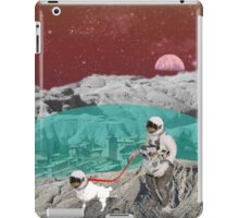 Lunar Colony Astronaut With Dog iPad Case/Skin