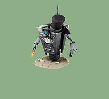 Fancy Butler Claptrap bot by Rywreck
