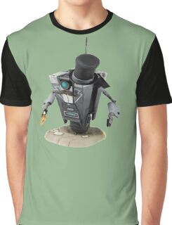 Fancy Butler Claptrap bot Graphic T-Shirt