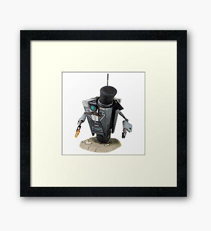 Fancy Butler Claptrap bot Framed Print