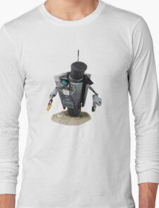 Fancy Butler Claptrap bot Long Sleeve T-Shirt