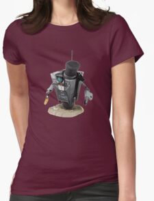 Fancy Butler Claptrap bot Womens Fitted T-Shirt