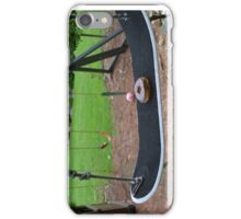 Donut on a Swing  iPhone Case/Skin