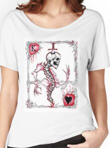 King of Hearts / Suicide King Women's Relaxed Fit T-Shirt