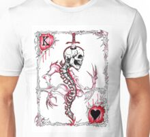 King of Hearts / Suicide King Unisex T-Shirt