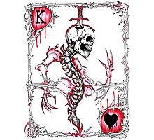 King of Hearts / Suicide King Photographic Print