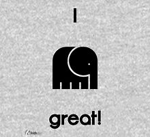 I Feel Great! Mens V-Neck T-Shirt