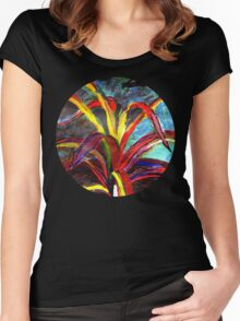 spider plant Women's Fitted Scoop T-Shirt