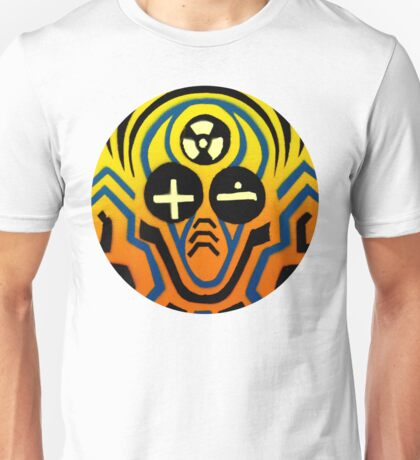 Atomic sound wave man Unisex T-Shirt