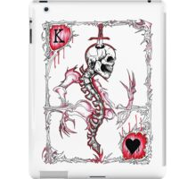 King of Hearts / Suicide King iPad Case/Skin