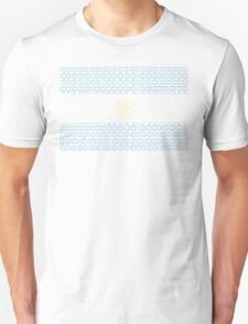 digital Flag Argentina Unisex T-Shirt