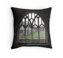 Chichester Cathedral Window Throw Pillow