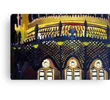 Brighton Pavilion by night Canvas Print