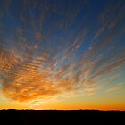 Copley Sunset, Outback South Australia by RedNomadOZ