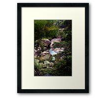 Down the river ....... Framed Print