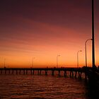 Derby Jetty Sunset, Western Australia by RedNomadOZ