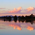Narrabri Lake Sunset, New South Wales by RedNomadOZ