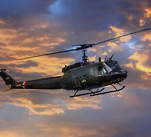 Huey - Vietnam Workhorse by James Biggadike