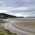 Arnside Beach. by Lilian Marshall