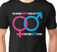 Men Don't Act Their Age Unisex T-Shirt